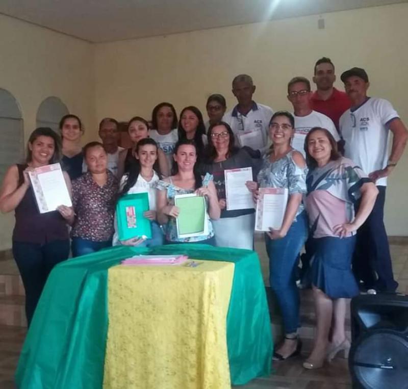 Secretaria de Saúde de Barra D'Alcântara promove curso na atenção básica