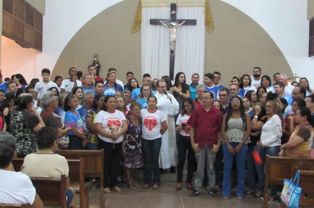 Paróquia do Junco celebra missa de abertura da Semana Diocesana da Família
