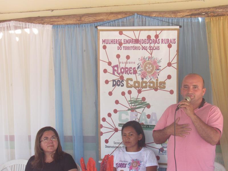 Vilma Lima participa de feira de agricultura familiar na comunidade Piranha
