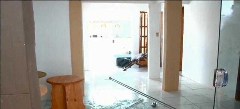 Família é feita refém durante assalto em Teresina