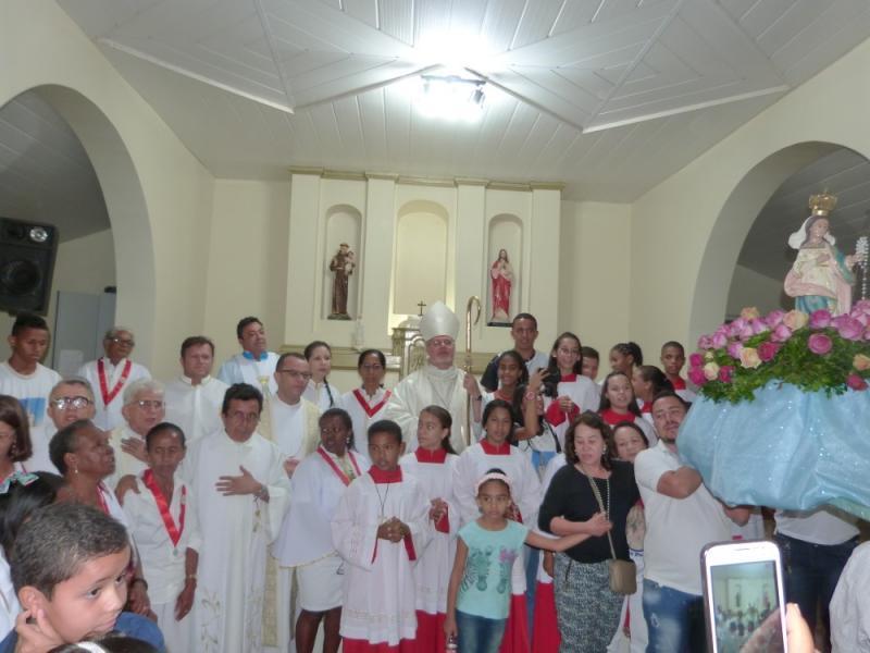 Festejos da Divina Pastora encerrou com bela procissão em Gilbués