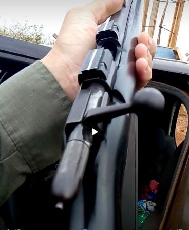 Homem é preso com fuzil carregado de munições no Piauí