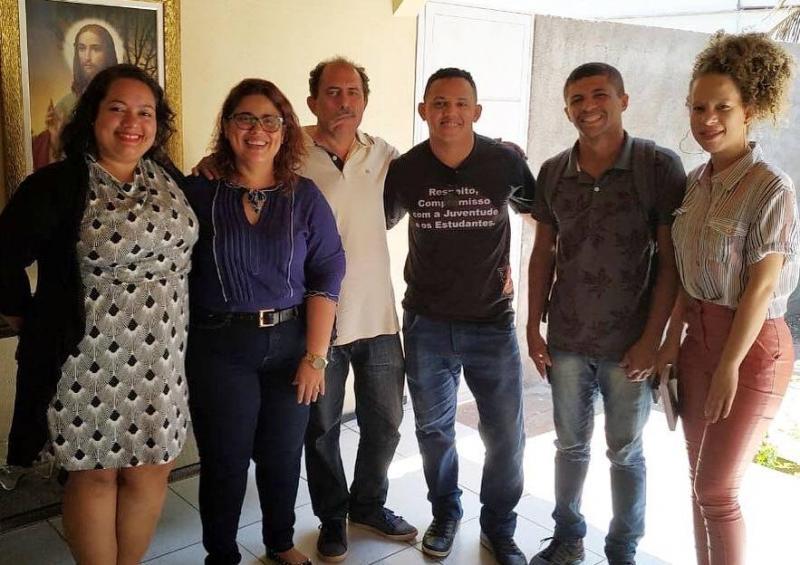 Patrícia Leal recebe representantes da Coordenadoria Estadual da Juventude