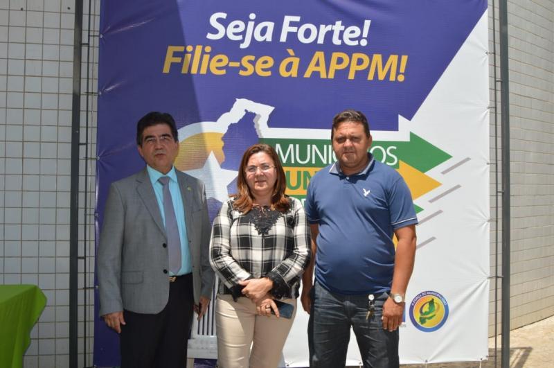Prefeita Vilma Lima participa de reunião na APPM