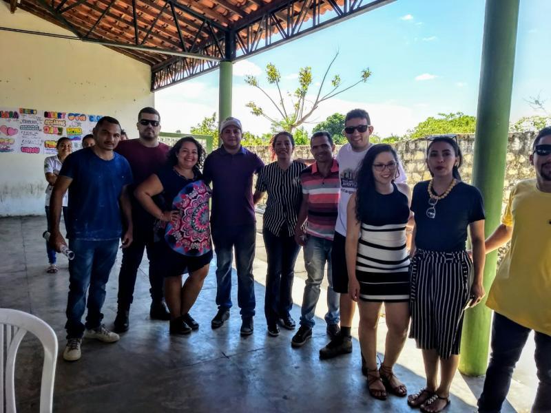 Landri Sales marca presença em reunião da Coordenadoria da Juventude