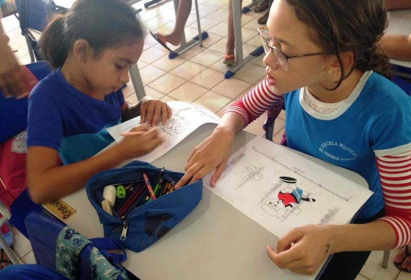 Gestão realiza atividades nas escolas através do PSE