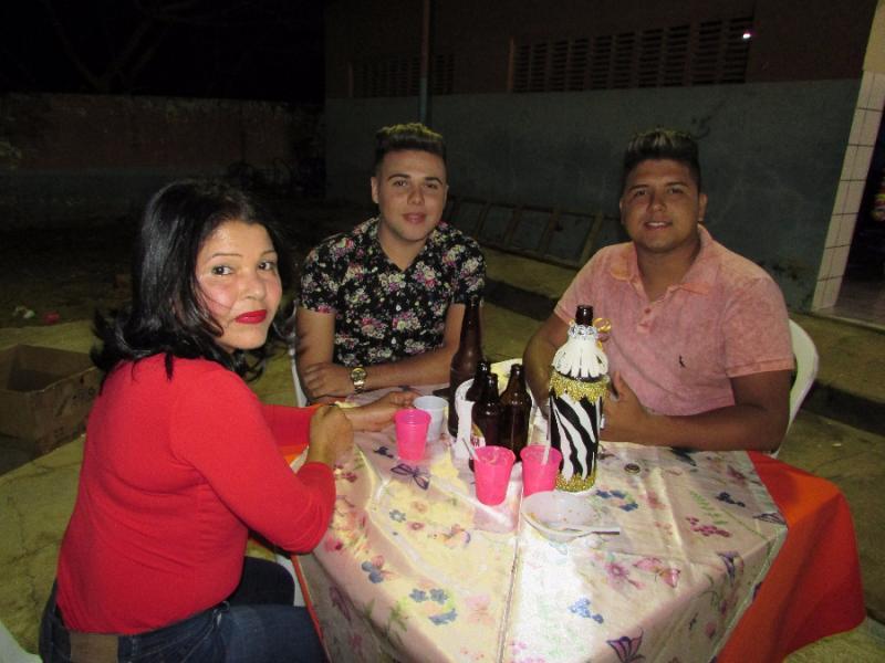 Coreógrafo da prefeitura de Lagoinha, Domingos pires, comemora seu aniversário com grande estilo