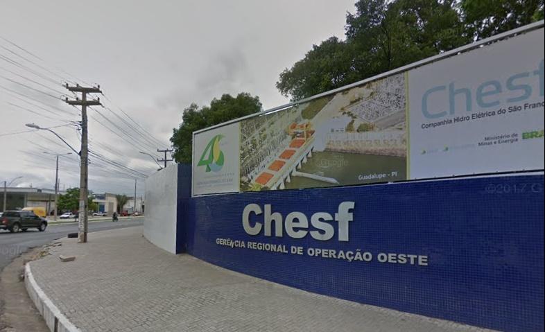 Audiência vai discutir a transferência da Chesf do Piauí para o Ceará