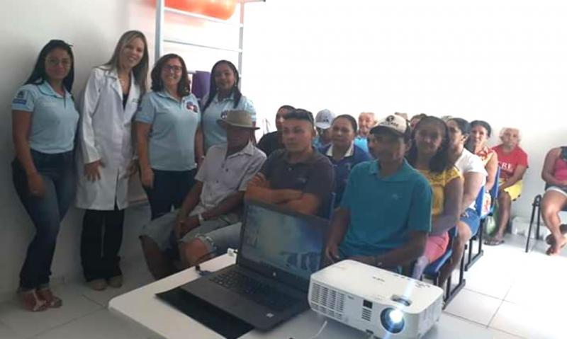 Prefeitura de Amarante realiza palestra sobre AVC na localidade Emparedada