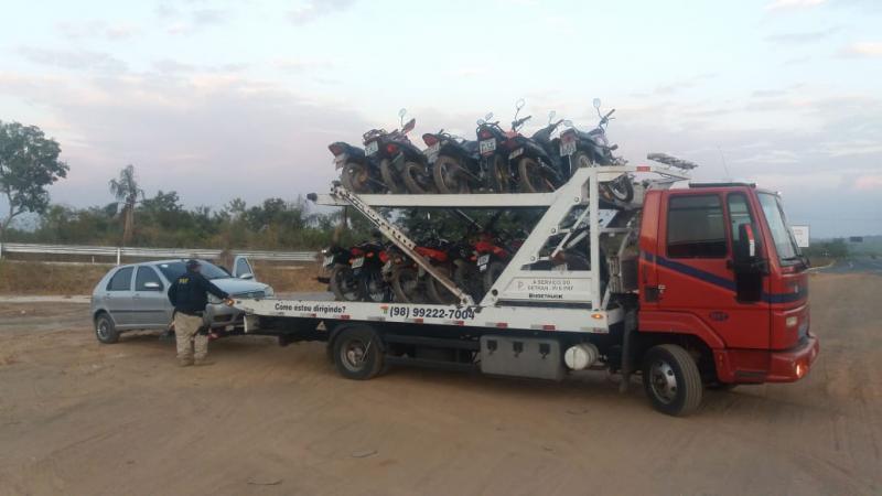 PRF intensifica fiscalização de motocicletas nas rodovias do Piauí