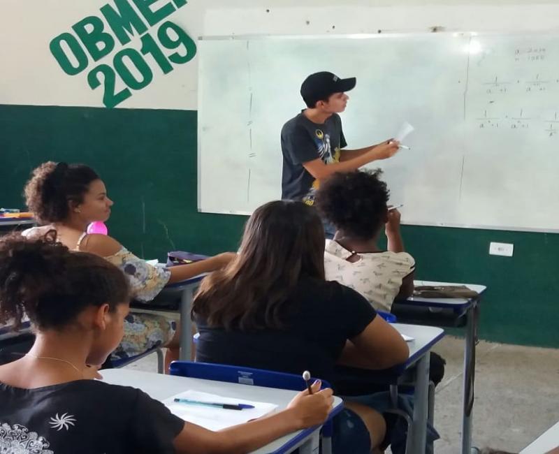 Prefeitura de Água Branca inicia aulas de reforço para Olimpíada Brasileira