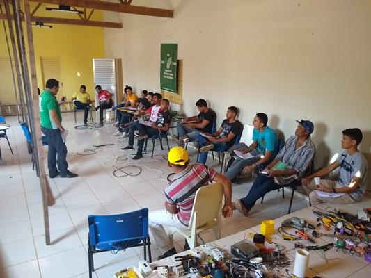 Mais um curso de eletricista e instalador rural em Colônia do Gurgueia