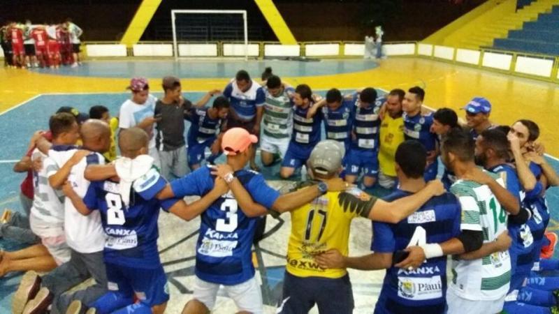 Time de Altos, Cobra D'Água, é campeão piauiense de futsal 2017
