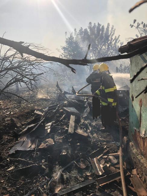Bombeiros são acionados para conter incêndio de grande proporção em Picos