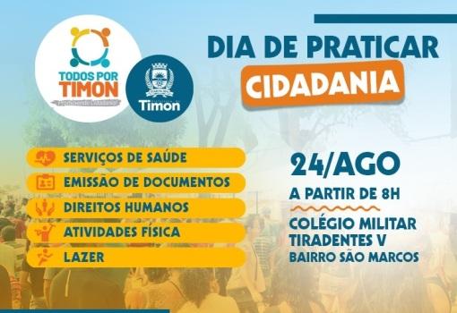 """""""Todos por Timon"""" levará serviços relevantes ao Bairro São Marcos e entorno"""