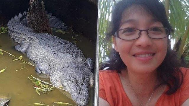 Cientista é comida viva por crocodilo em laboratório indonésio