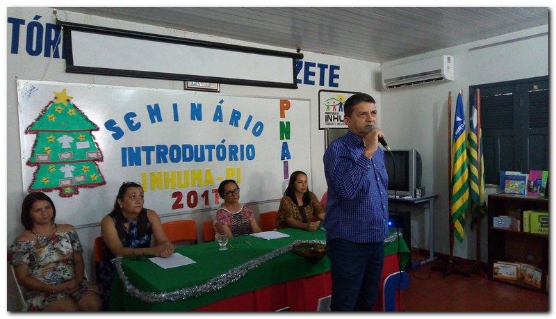 Seminário Introdutório do PNAIC  Município de Inhuma Piauí