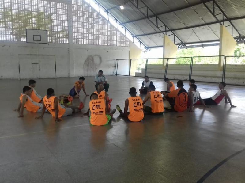 ESPORTES: Time de Beneditinos se prepara para torneio regional