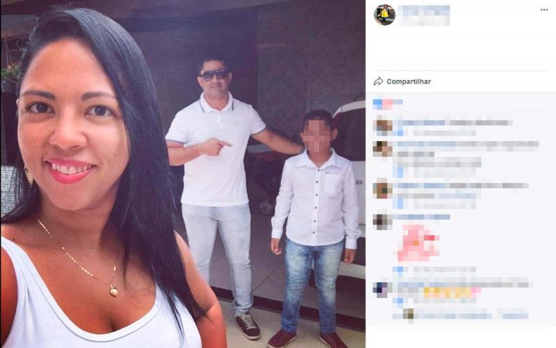 Homem mata ex-mulher a tiros na frente do filho e depois se mata