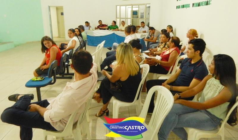 Prefeitura de Cristino Castro realizou audiência e apresentou os projetos de leis LOA e PPA