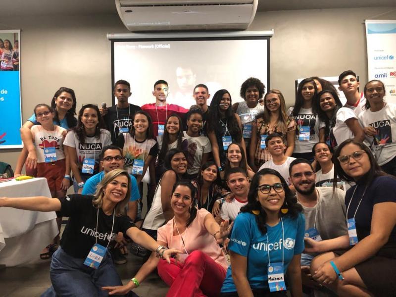 Equipe de Lagoa do Piauí participa de Encontro Estadual do Unicef