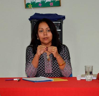 Prefeita Doquinha deseja ao povo de Colônia do Gurguéia-PI, um feliz natal