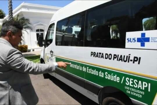 Prata do Piauí recebe transporte para área da saúde do município