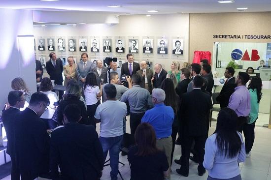 OAB Piauí inaugura Nova Galeria dos Ex-Presidentes da instituição