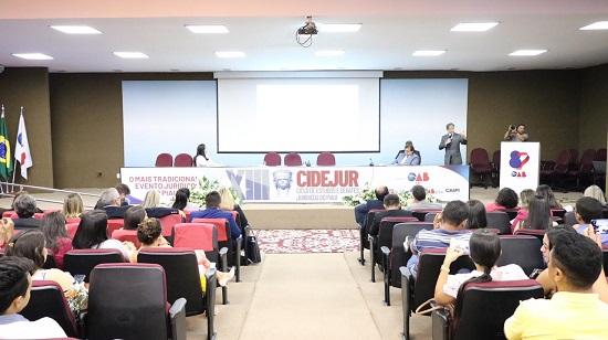 História da Advocacia marca primeiro dia do XIII CIDEJUR na OAB Piauí