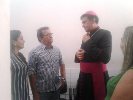 D. Francisco, Bispo Diocesano de Campo Maior, visita Alto Longá
