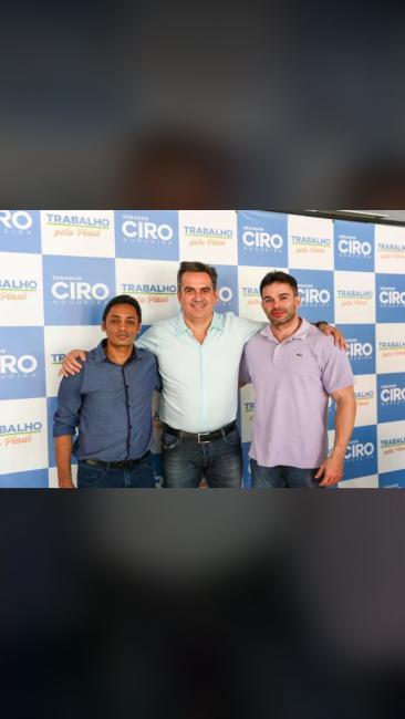 Prefeito Claudison Brito e deputado  Bessah Sá se reúnem  com Ciro Nogueira