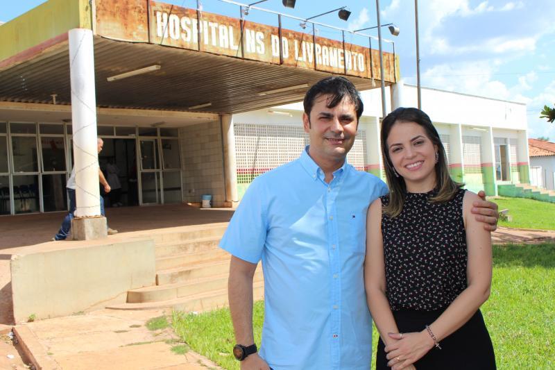 Prefeitura de José de Freitas firma convênio para reforma do Hospital