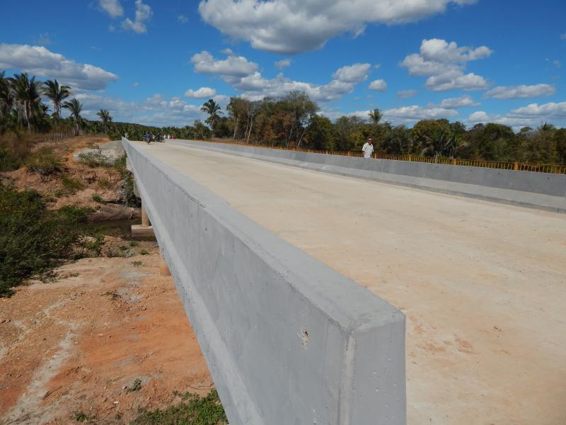 Prefeito dará entrevista falando da inauguração da Ponte da Gameleira