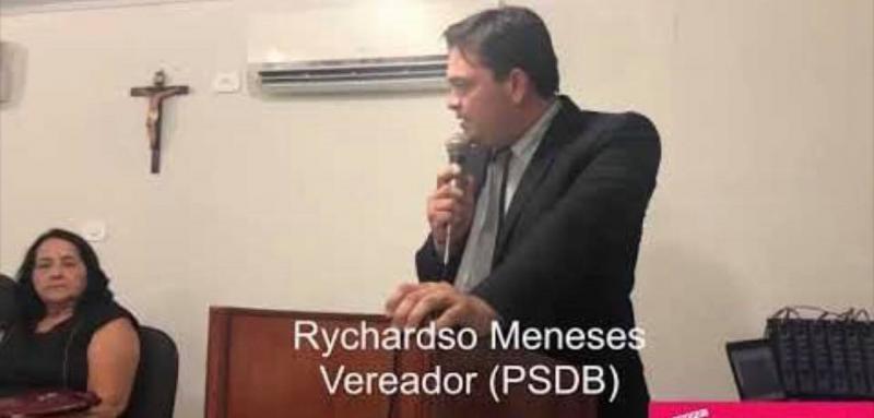 Vereador Rychardson Meneses
