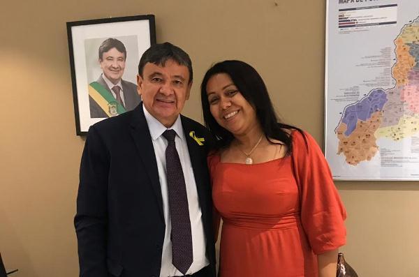 Governador Wellington Dias e Prefeita Doquinha