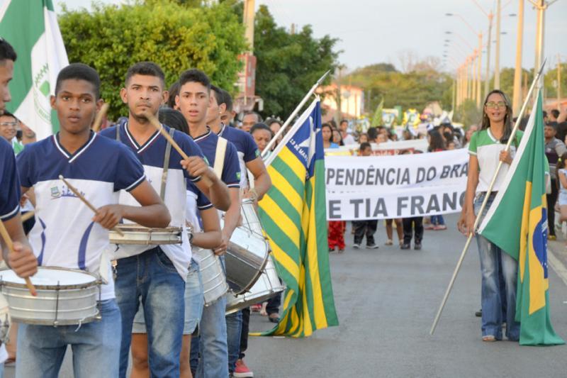 Água Branca realiza desfile cívico da independência na próxima sexta (6)
