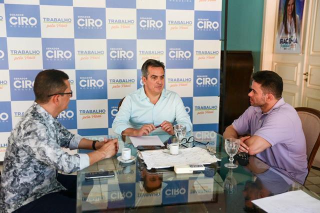 Ciro Nogueira reafirma apoio a oposição em Valença e Novo Oriente