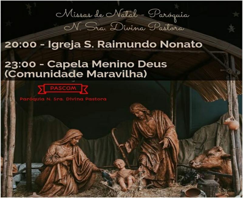 Missas de Natal em Gilbués-Pi 24/12/17
