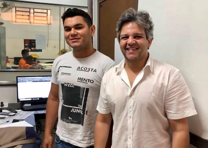 Miguel Leão | Prefeito anuncia obra de sinalização em ruas asfaltadas
