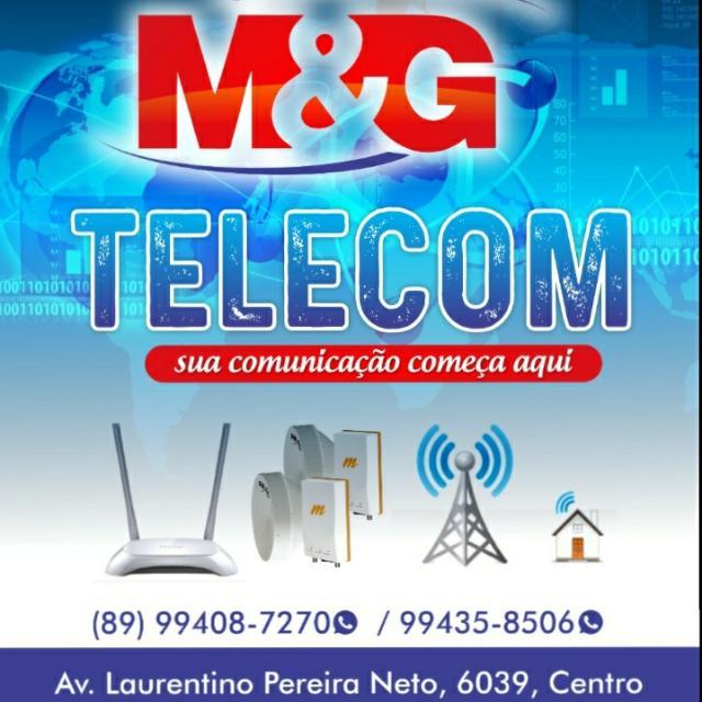 M & G Telecom chega com fibra óptica e internet de qualidade