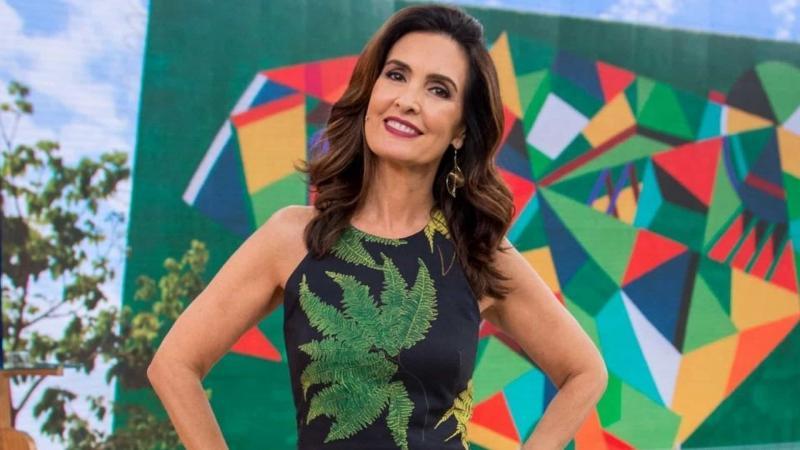 Fátima Bernardes anuncia a Record em chamada do 'Encontro'