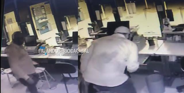 Vídeos mostram líderes de facção assaltando Casa Lotérica no MA