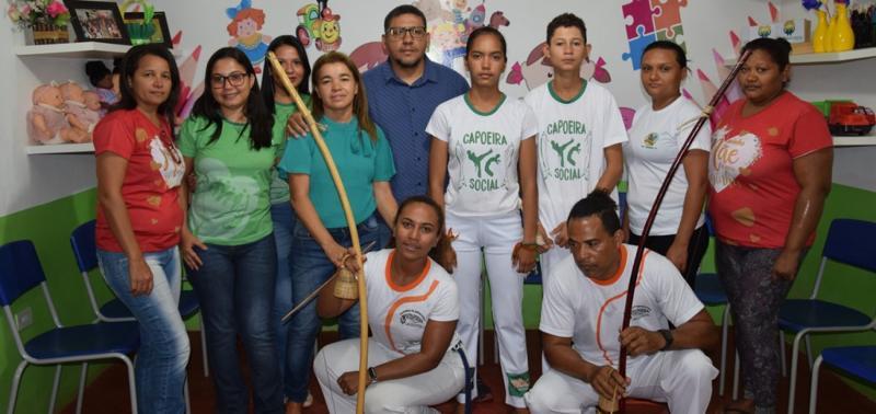 Alunos de projeto social em Geminiano participam de Campeonato de Capoeira