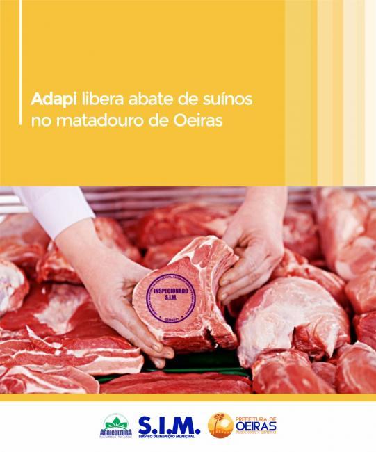 Adapi libera abate de suínos no matadouro de Oeiras