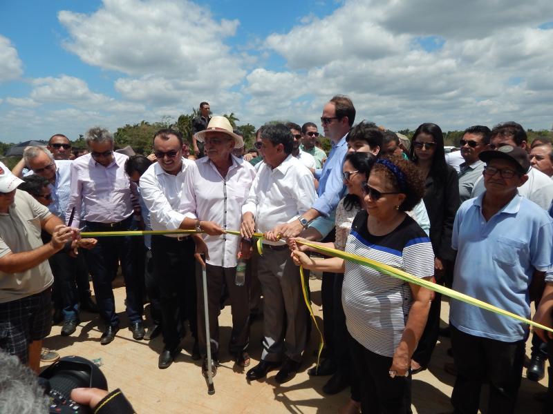 Governador e Prefeito inauguram Ponte da Gameleira