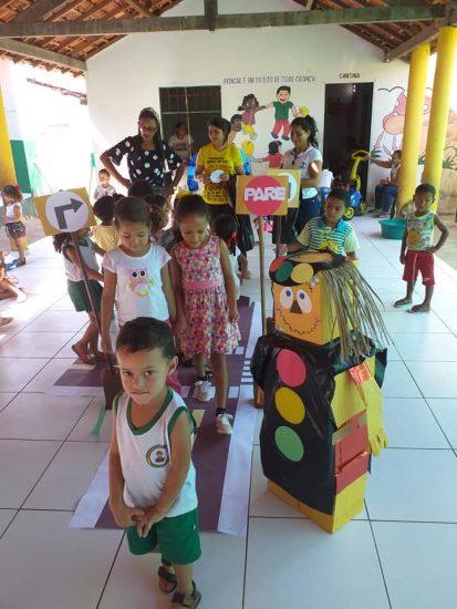Porto: Creche Pequeno Polegar recebe aula sobre trânsito