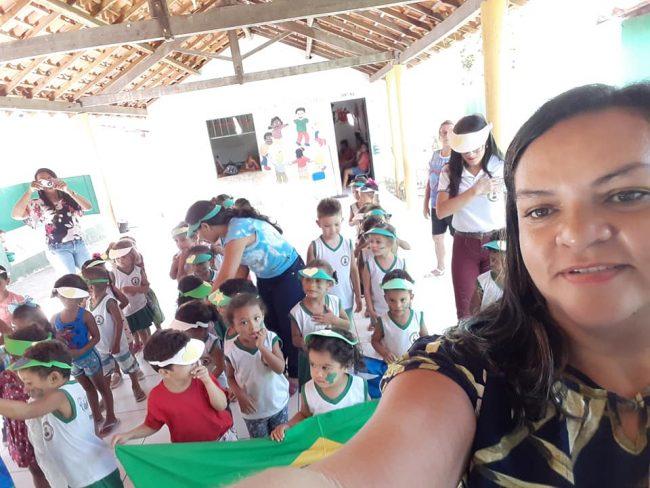 Porto | Creche realiza atividade para celebrar Dia da Amazônia