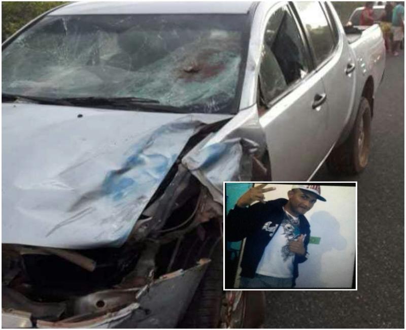 Colisão entre moto e caminhonete deixa um morto na PI 113 em Cabeceiras