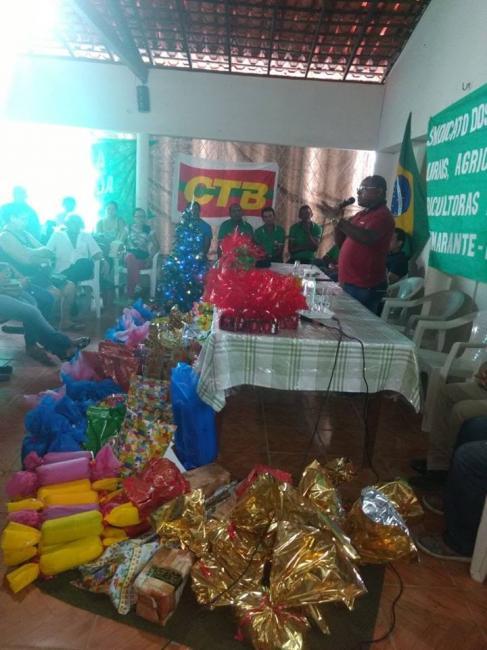 Prefeito Diego Teixeira participa de encontro com trabalhadores rurais de Amarante