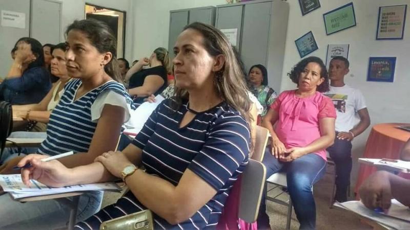 Professores da rede municipal de Nazária receberam formação continuada
